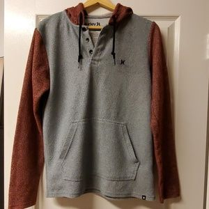 Hurley pullover hoodie sweatshirt thin shirt